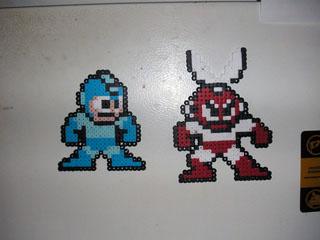 Megaman and Cutman